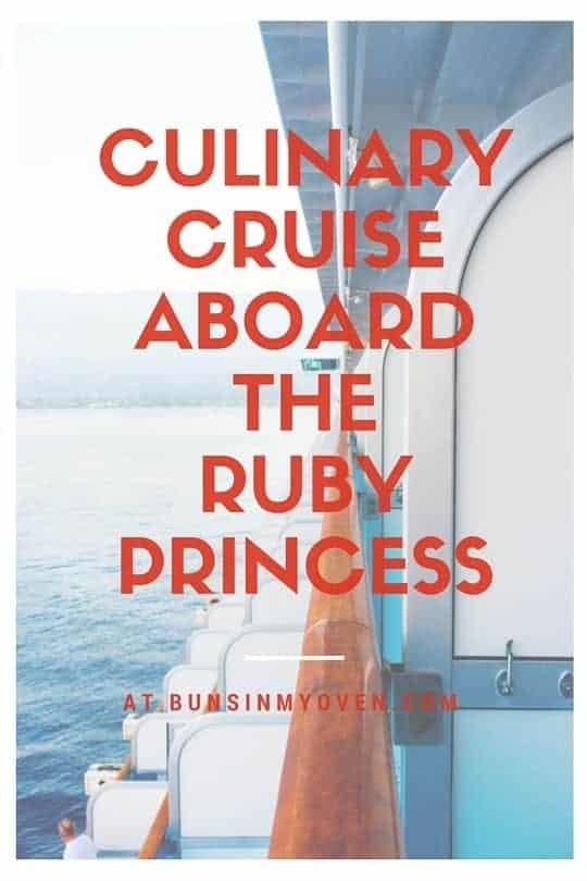 My review of the Ruby Princess and our culinary cruise with Cat Cora!