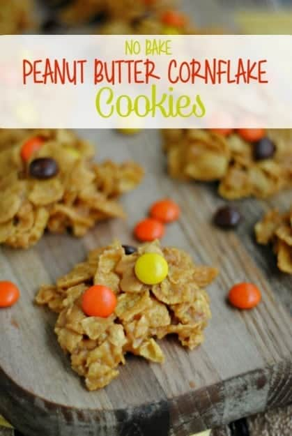 no-bake-peanut-butter-cornflake-cookies