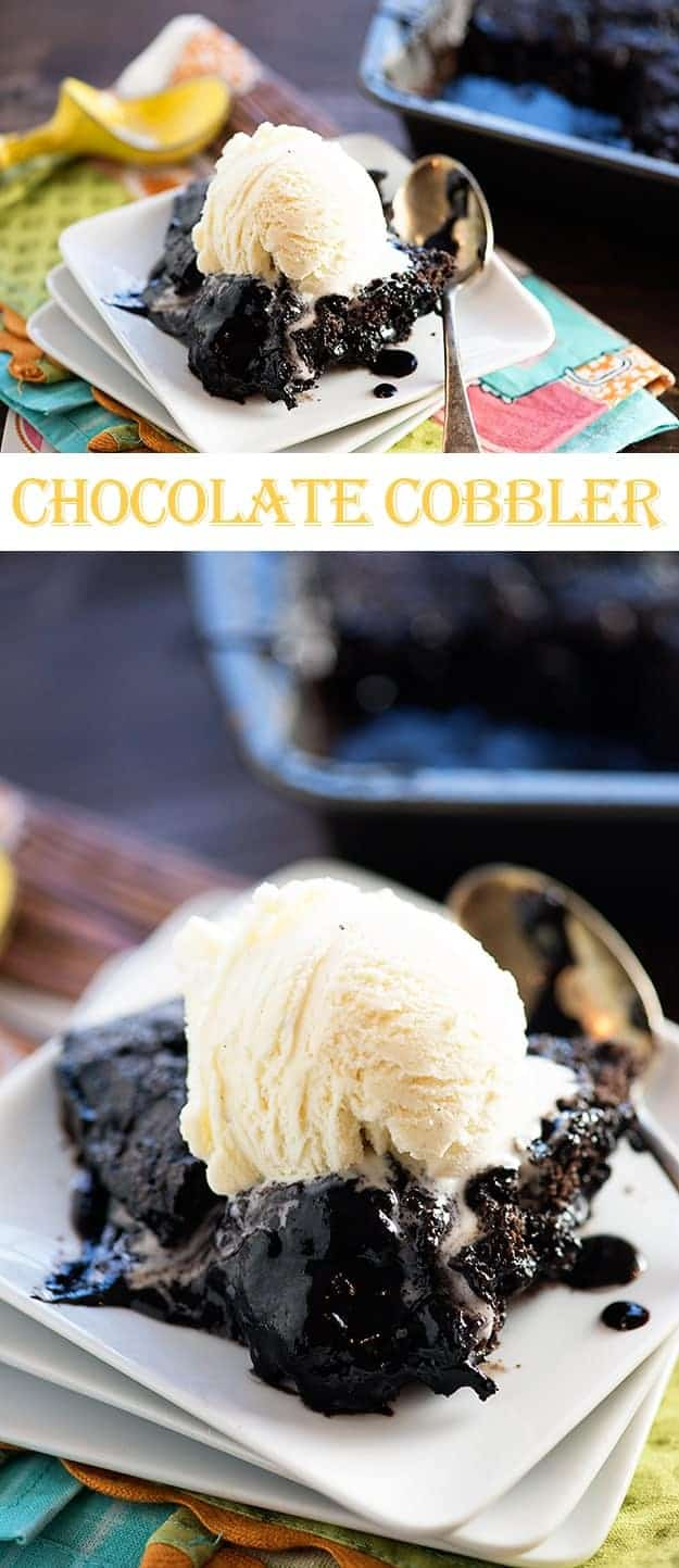 Chocolate Cobbler — Buns In My Oven