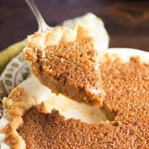 Rich and creamy brown sugar pie! Perfect for Thanksgiving or Christmas.