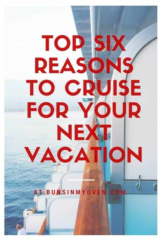Six reasons why cruising is the perfect family vacation! Especially if you're on a budget or travelling with kids!