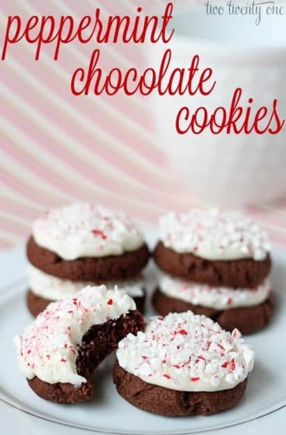 peppermint-chocolate-cookies