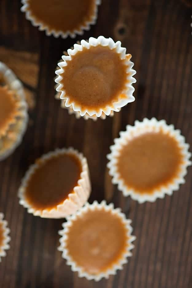 I found my favorite keto friendly dessert! These low carb fat bombs are full of maple flavor and the texture is like a creamy peanut butter cup! So good!