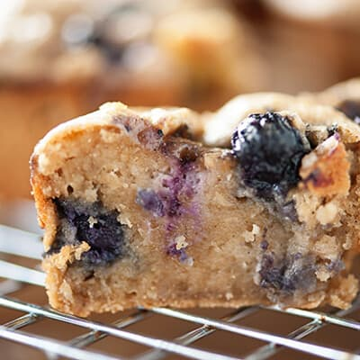 These blueberry almond banana muffins are rich, fudgy, and super healthy! They make a perfect guilt-free breakfast!