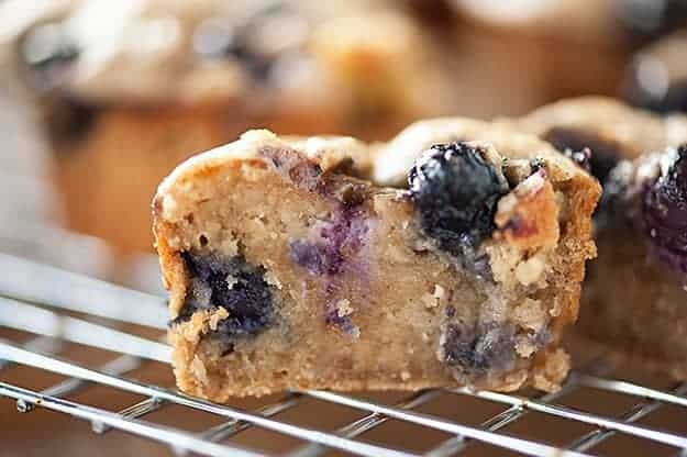 These Blueberry Almond Banana Muffins Are Rich Fudgy And Super Healthy They Make
