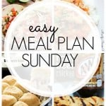 It's time for another easy meal plan! This one is full of easy week night recipes the whole family will love!