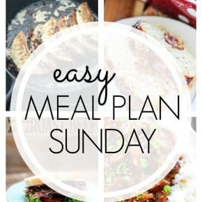 This week's meal plan is full of all kinds of good things - enchilada subs, bbq turkey meatloaf, and more!