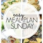 An easy weekly meal plan the whole family will love!