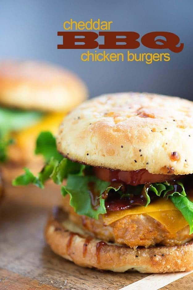 BBQ Chicken Burgers — Buns In My Oven
