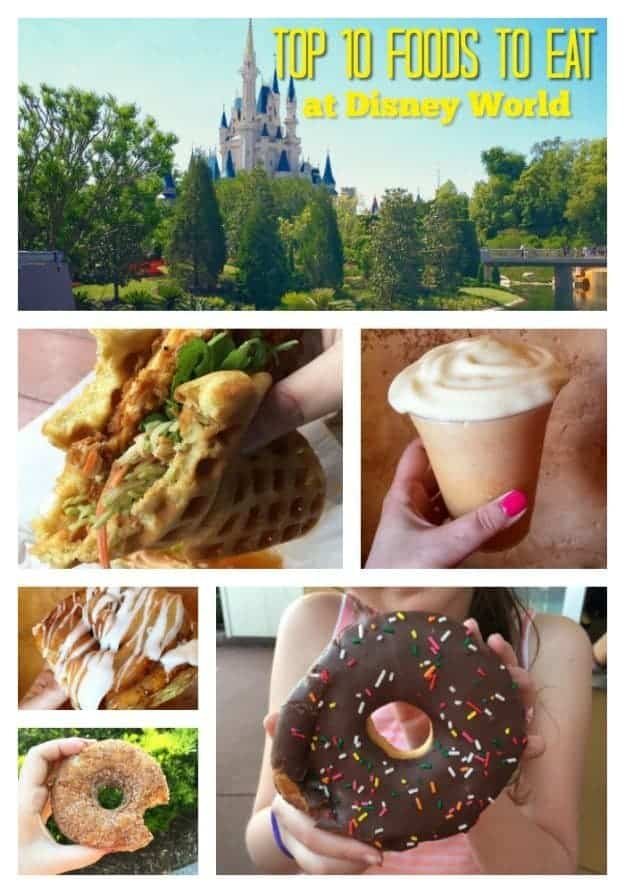 Disney makes some of the best food! These are my top 10 picks of what to eat at the parks!