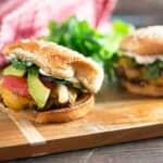 We love these steak fajita burgers! Juicy and perfect for grilling!