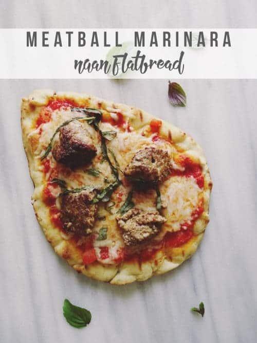 Meatball-Marinara-Naan-Flatbread