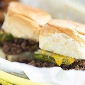 My kids love this version of a burger! Easier than firing up the grill, too!