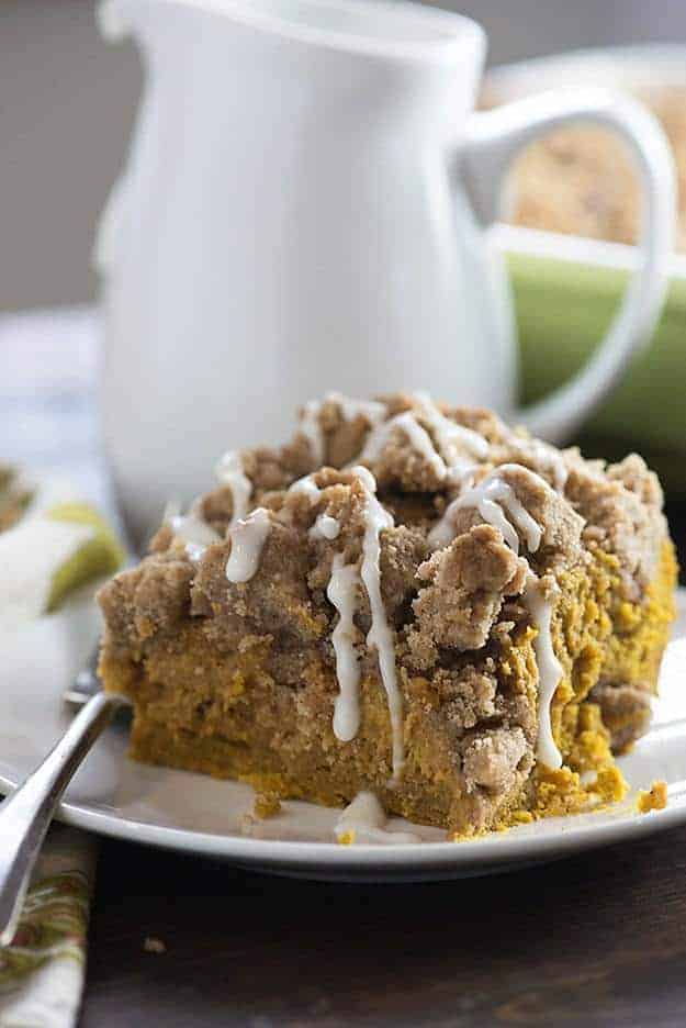 Best Pumpkin Coffee Cake