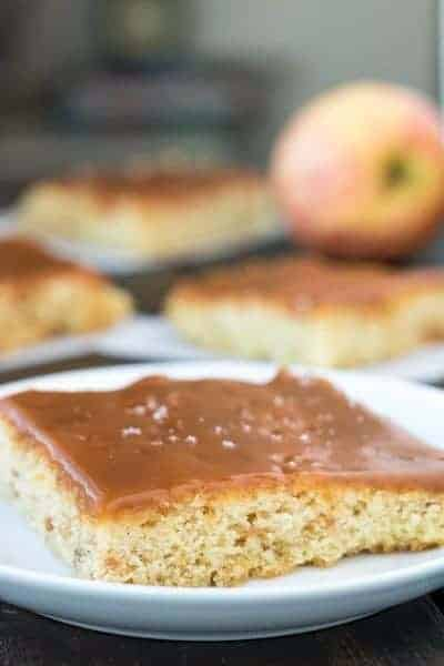 Buns In My Oven Slow Cooker Caramel Apple Pudding Cake