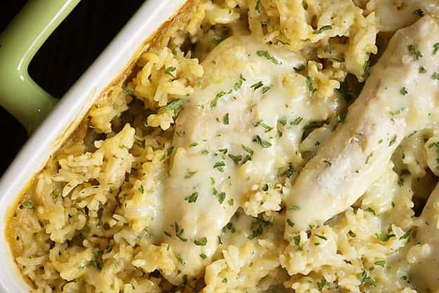 Chicken And Rice Casserole Family Friendly And Perfect For Busy Nights