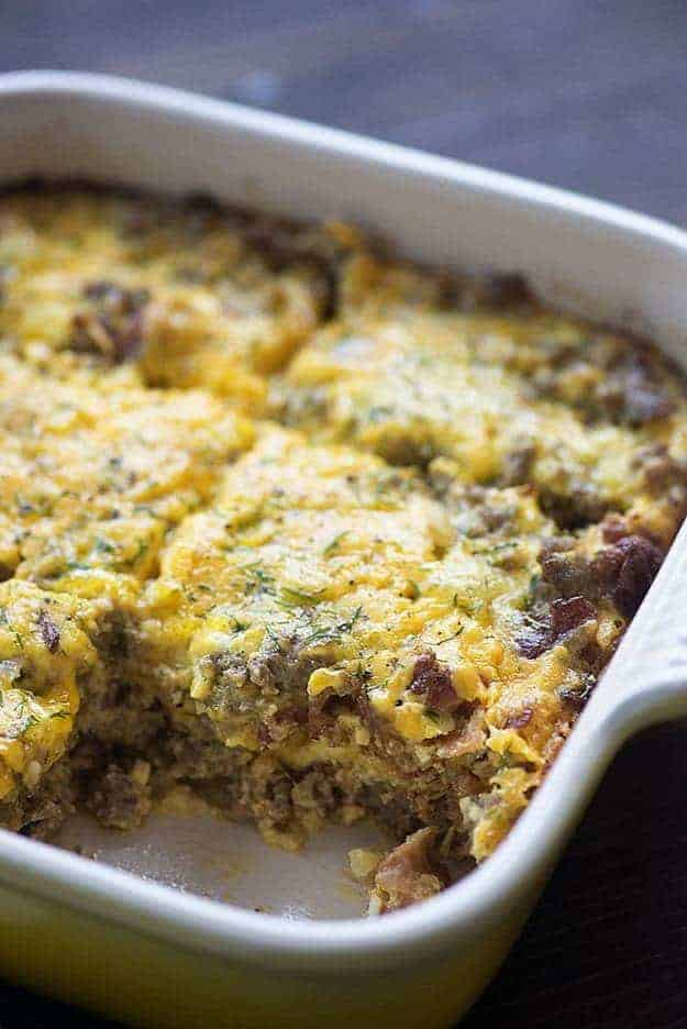 Low Carb Bacon Cheeseburger Casserole — Buns In My Oven