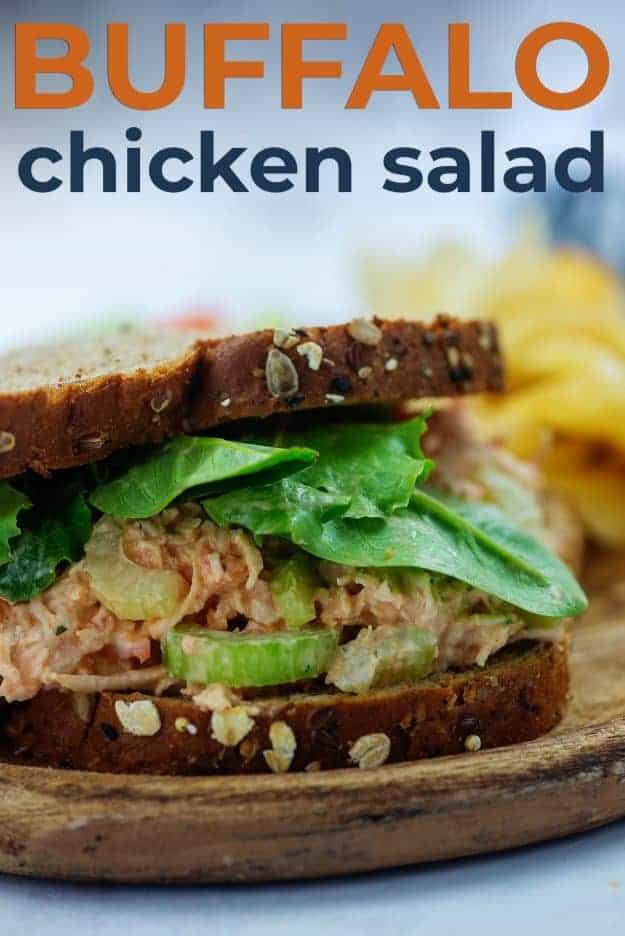 chicken salad sandwich on wheat bread