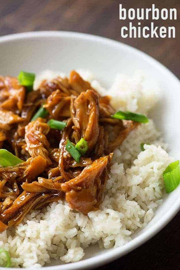 Bourbon Chicken In The Slow Cooker Buns In My Oven