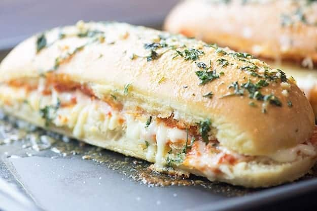Garlic Pizza Bread Buns In My Oven