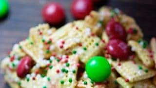 Christmas Crunch Bars