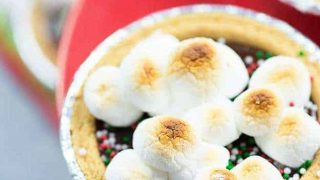 Mini Christmas S'mores Pie