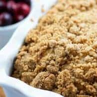This tender cranberry bread is sweet tart perfection! Makes a great breakfast or afternoon snack!