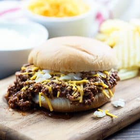These easy sloppy joes have a fun twist - they're made with chili instead of traditional sloppy joe sauce!