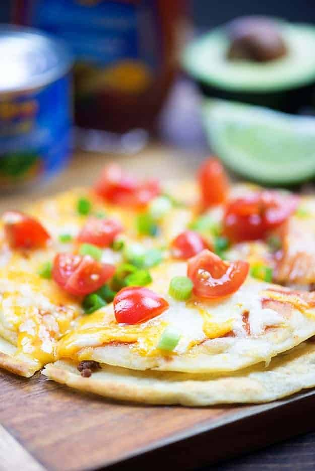 We love this Mexican pizza recipe!