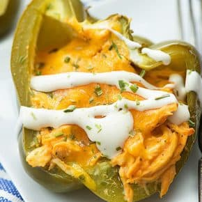 If you're on a low carb diet or keto, you have to try these low carb stuffed peppers!