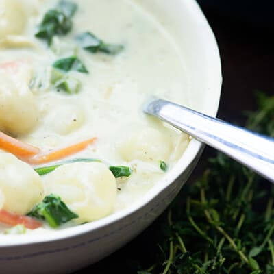 Chicken Gnocchi Soup recipe!
