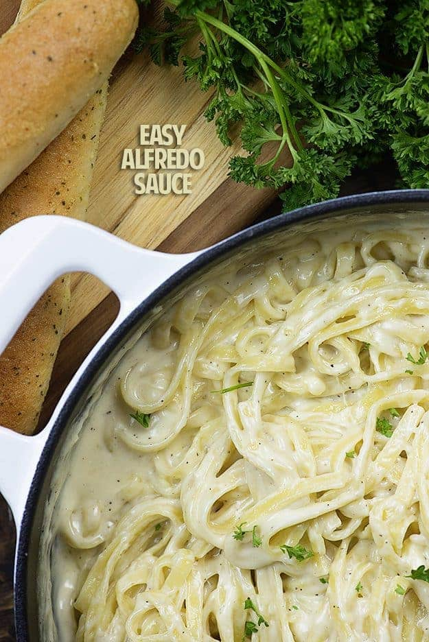 Alfredo sauce recipe for pasta