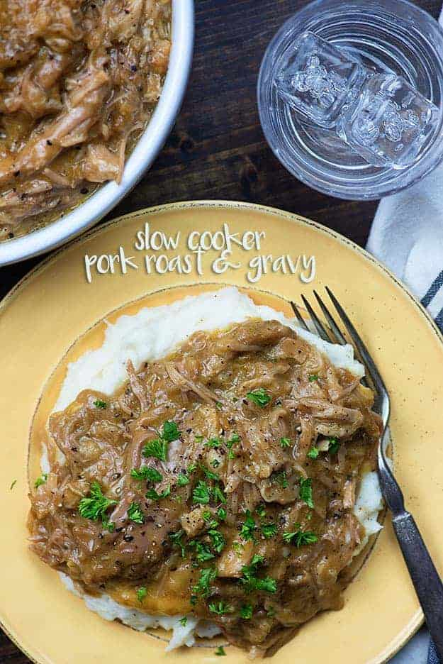 Easy slow cooker pork shoulder recipe
