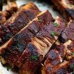 crockpot ribs on sheet pan