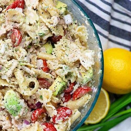 Cold Tuna Pasta Salad Recipe Buns In My Oven
