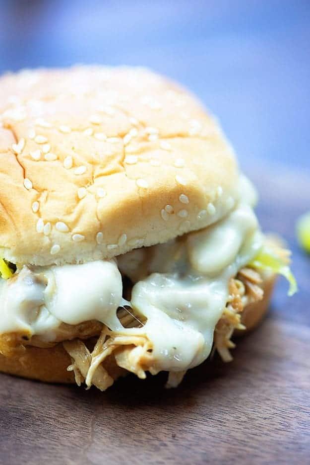 A Mississippi chicken sandwich.