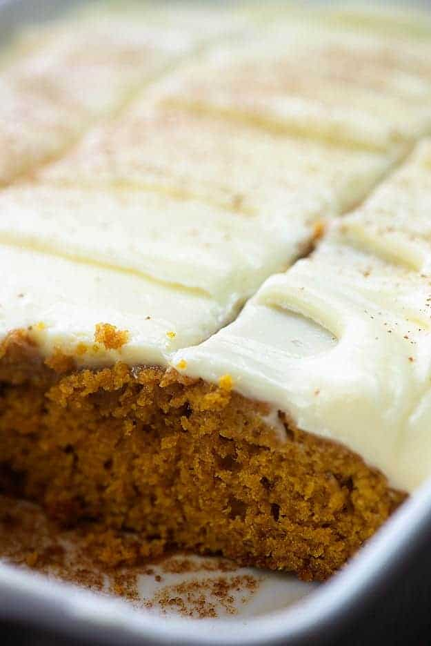 A close up of a piece of carrot cake