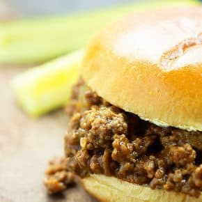 Homemade Sloppy Joes! We make this at least once a week in our house! #easy #recipes #sloppyjoe