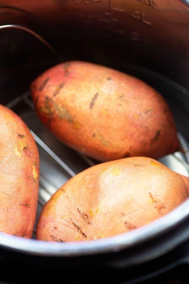 sweet potatoes in instant pot
