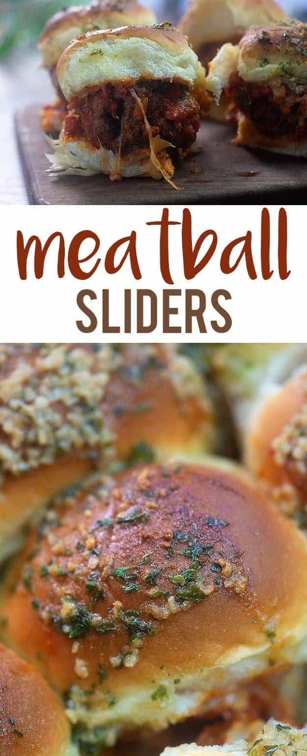 A close up of sliders.