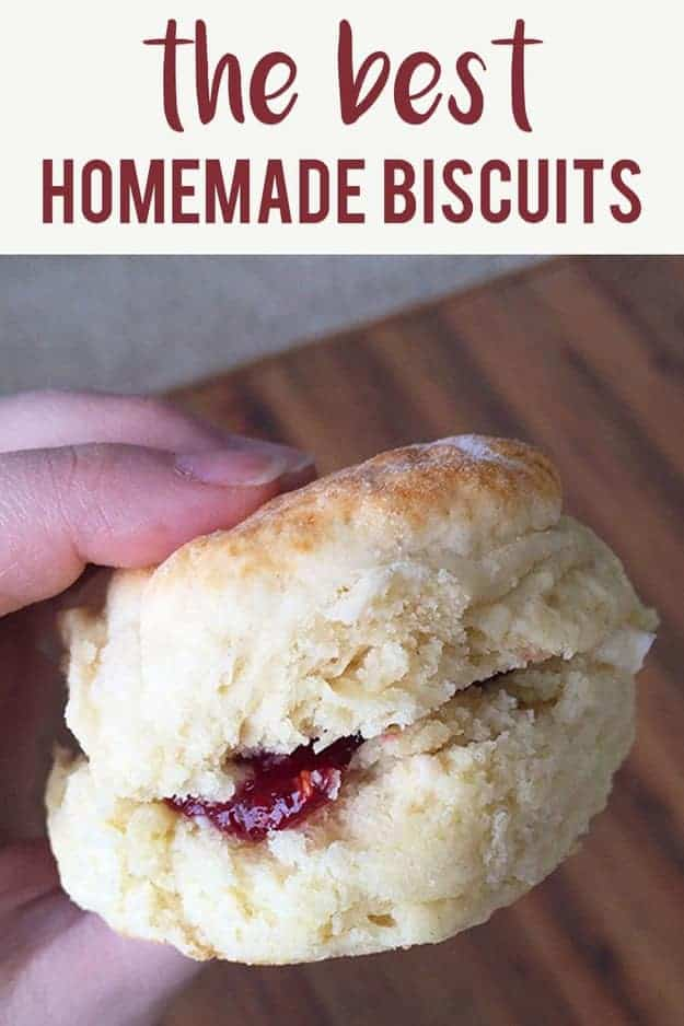 hand holding a biscuit with jam inside.