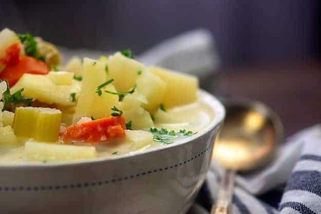 crockpot ham soup recipe