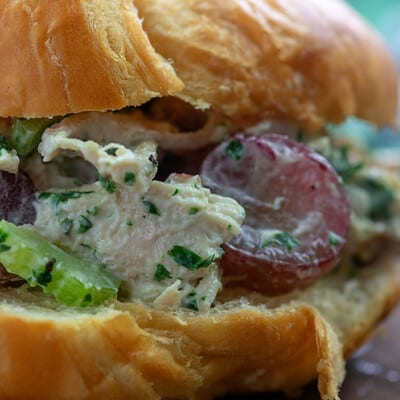 chicken salad croissiant
