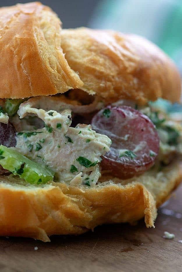 chicken salad croissiant