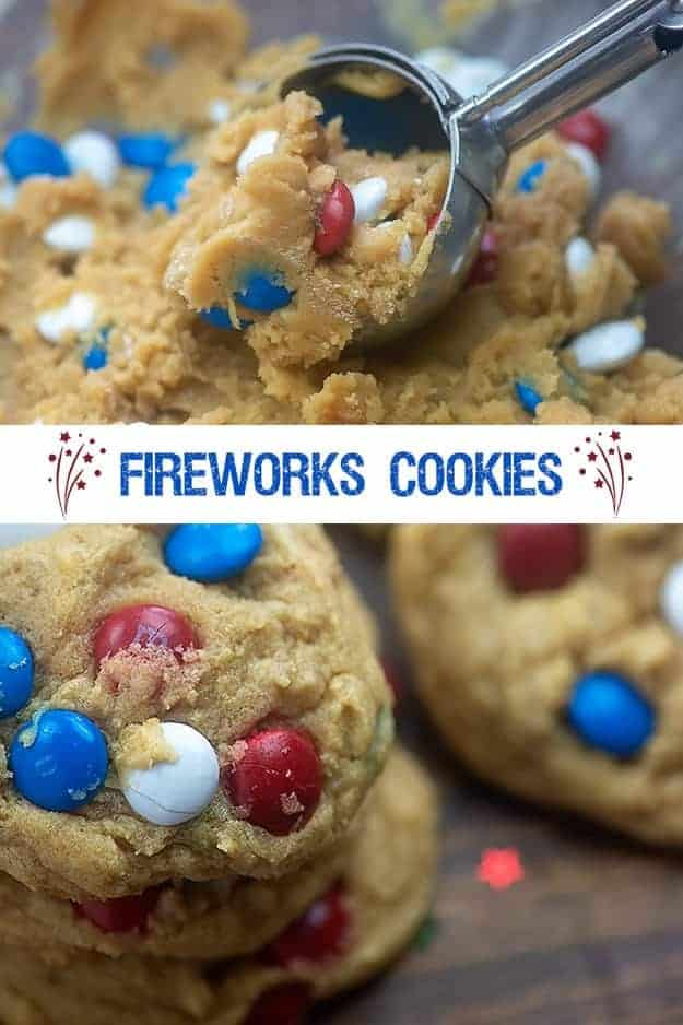 Fourth of July cookies.
