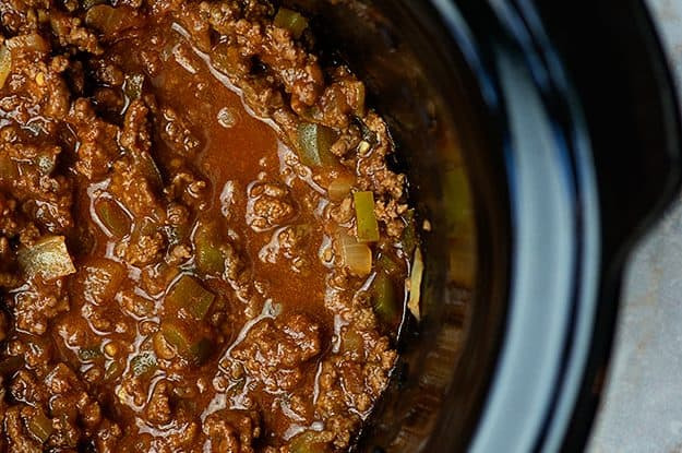 sloppy joe mixture in crockpot
