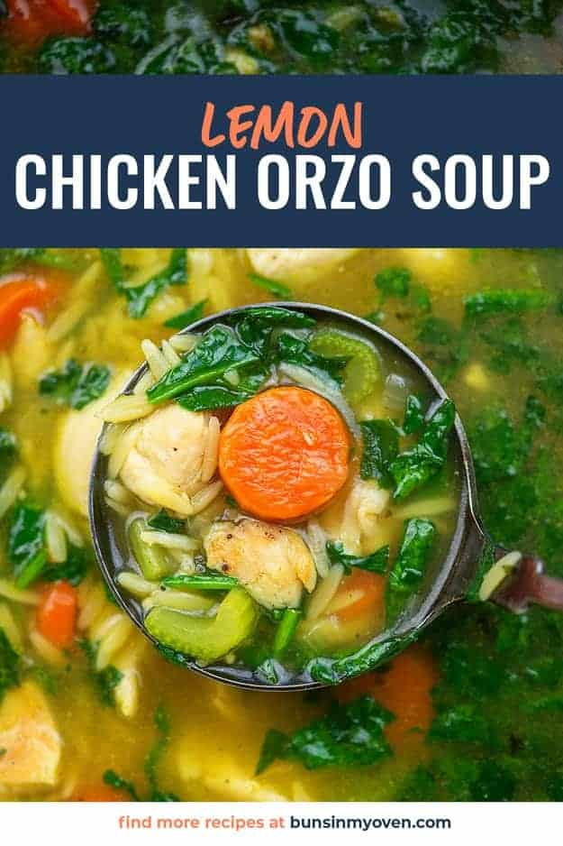 We love the way the fresh lemon brightens up this soup. It's easy to too! #soup #lemon #chickensoup
