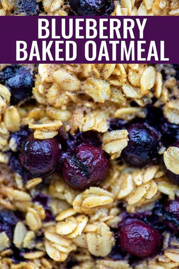 blueberry baked oatmeal recipe