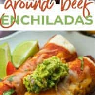 enchilada photo collage