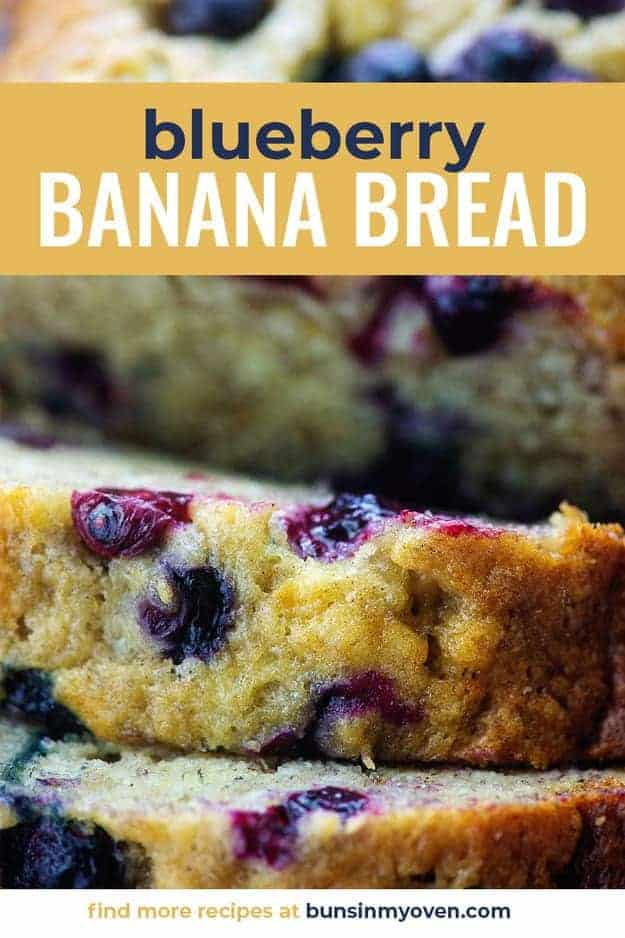 bluberry banana bread recipe